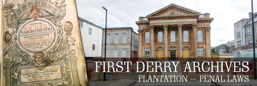 First Derry Archives header image